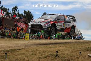 WRC Szardínia Toyota Yaris WRC háttérkép