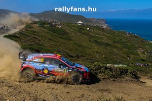 Dani Sordo Hyundai i20 WRC Rally Italia Sardegna háttérkép