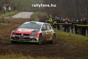 Herczig Norbert (VW Polo GTI R5) ERC Nyíregyháza Rally háttérkép