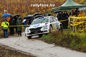 Chris Ingram ERC Rally Hungary Skoda Fabia R5 háttérkép