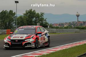 Tassi Attila Honda Civic WTCR Hungaroring háttérkép