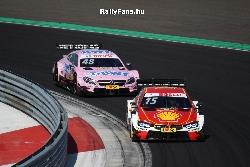 Augusto Farfus (BMW)&Edoardo Mortara (Mercedes) DTM Hungaroring
