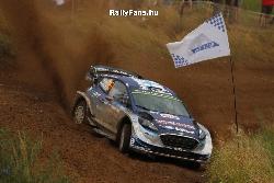 Teemu Suninen (Ford Fiesta WRC) Rally Poland