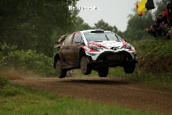 Juho Hanninen (Toyota Yaris WRC) Rally Poland
