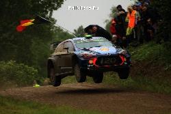 Hayden Paddon (Hyundai i20 WRC) Rally Poland