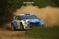 Ranga Péter-Szőke Tamás (Skoda Fabia R5-Ranga Motorsport) ISEUM Rallye